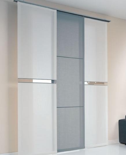 Tende da interni moderne per tutta la casa cattani vicenza for Tende pannello moderne