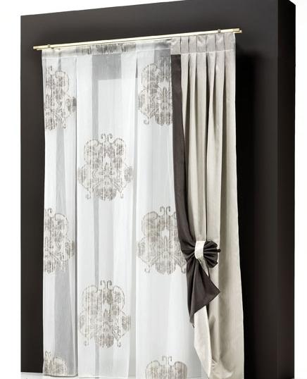 Tende da interni con doppio bastone cattani vicenza - Accessori per tende da interno ...